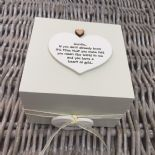 Shabby Personalised Chic Auntie Aunty Great Aunt Gift Trinket Box Jewellery Box - 232512182734